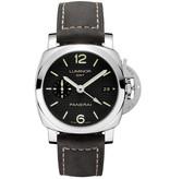 Officine Panerai Luminor 1950 42mm GMT Horloge / Zwart / Leder