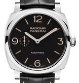 Officine Panerai Radiomir 1940 42 Horloge Staal / Zwart / Alligatorleder