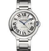 Cartier Ballon Bleu 42mm Horloge Staal / Zilver / Staal