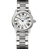 Cartier Ronde Solo SM 29mm Horloge Staal / Zilver