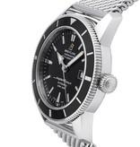 Breitling Superocean Heritage 42 Horloge Staal Zwart / Staal