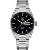 Tag Heuer Carrera Day-Date Calibre 5 Horloge Staal / Zwart