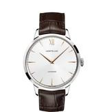 Montblanc Meisterstück Heritage 41mm Horloge Staal Zilver / Alligatorleder