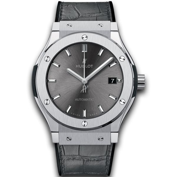 Classic Fusion Racing 45mm Horloge Titanium / Grijs
