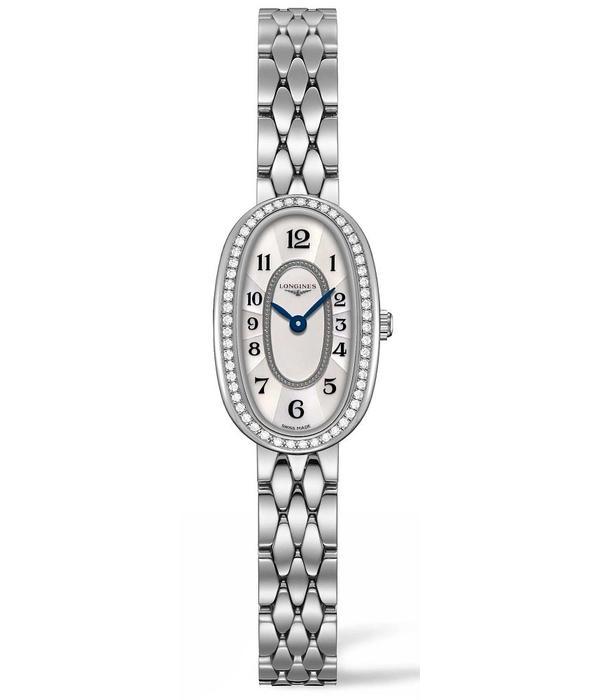 Longines Symphonette 25mm Horloge Staal / Parelmoer