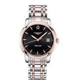 Longines Saint Imier 41mm Horloge Staal / Roségoud / Zwart