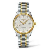 Longines Master Collection 36mm Horloge Staal / Geelgoud / Zilver