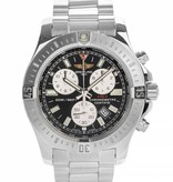 Breitling Colt Chronograph Horloge Staal Zwart / Staal