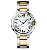 Cartier Ballon Bleu 36mm Horloge Staal / Goud / Zilver