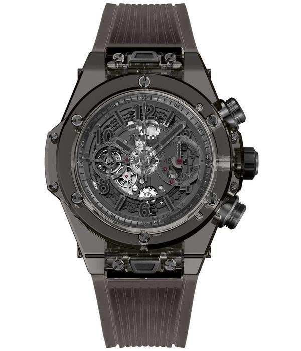 Hublot Big Bang Unico All Black Sapphire 45mm (411.JB.4901.RT)