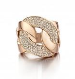 Schaap en Citroen Ring Diamant Roségoud