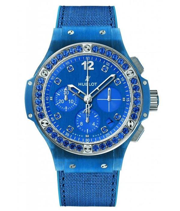 Hublot Big Bang Blauw Linen Limited Edition