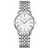 Longines La Grande Classique de Longines 34mm Horloge Staal / Wit