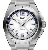 IWC Ingenieur Dual Time 43mm Herenhorloge Staal / Wit