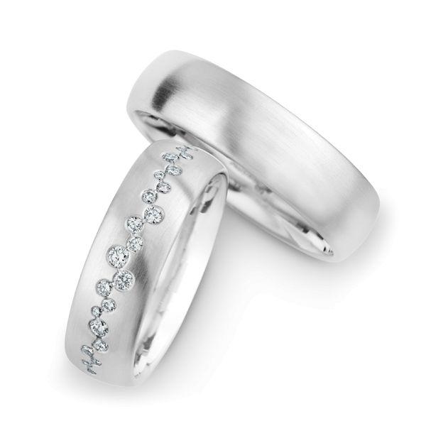 christian bauer wedding rings 14 carat white gold 25