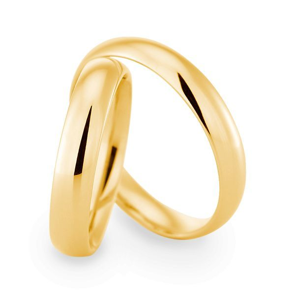 Wedding Rings 18 Carat Yellow Gold