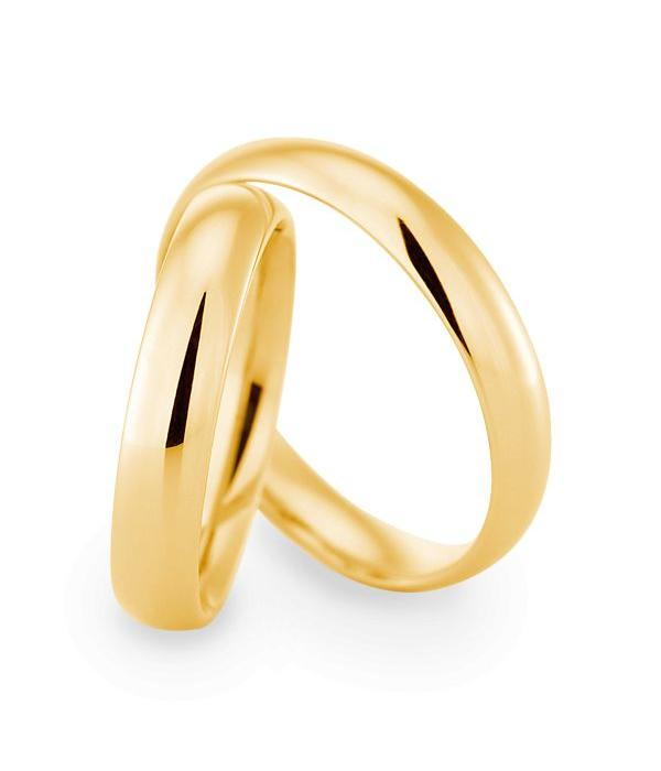 Christian Bauer Wedding Rings 18 Carat Yellow Gold