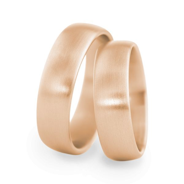 Wedding Rings 18 Carat Rose Gold