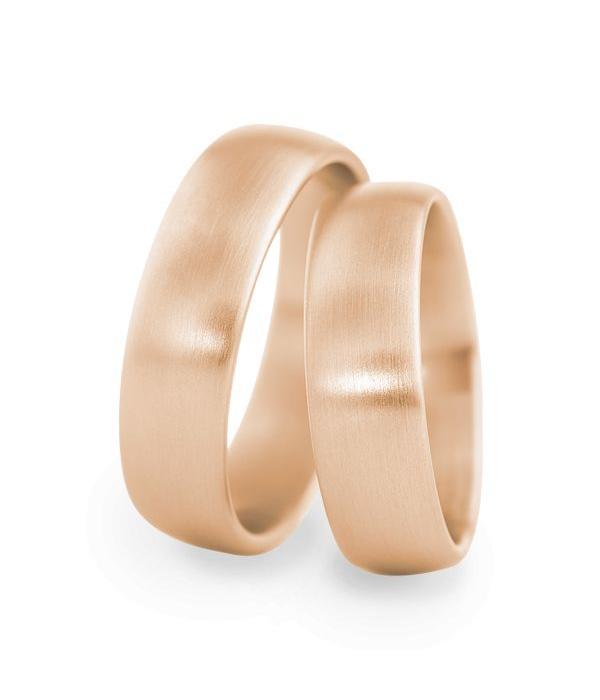 Christian Bauer Wedding Rings 18 Carat Rose Gold