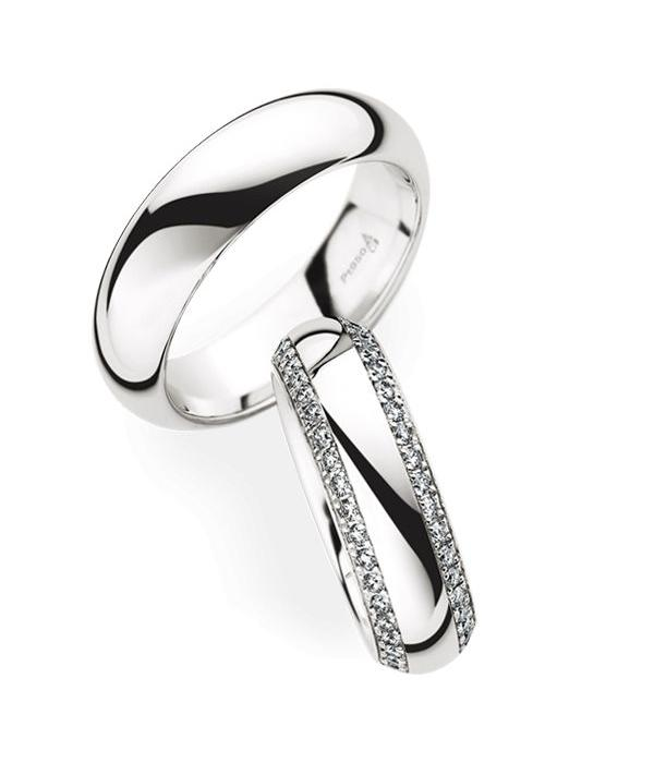 Christian Bauer Wedding Rings 950 Platina 82 Brilliants