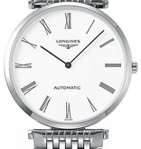 Longines La Grande Classique 30mm Horloge Staal / Wit