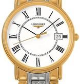 Longines Les Grande Classique 33mm Horloge PVD Coating / Wit
