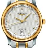 Longines Master Collection 38mm Horloge Staal / Geelgoud / Zilver