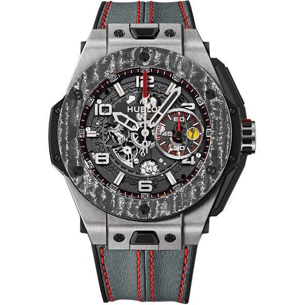Big Bang Ferrari Titanium Carbon 45mm