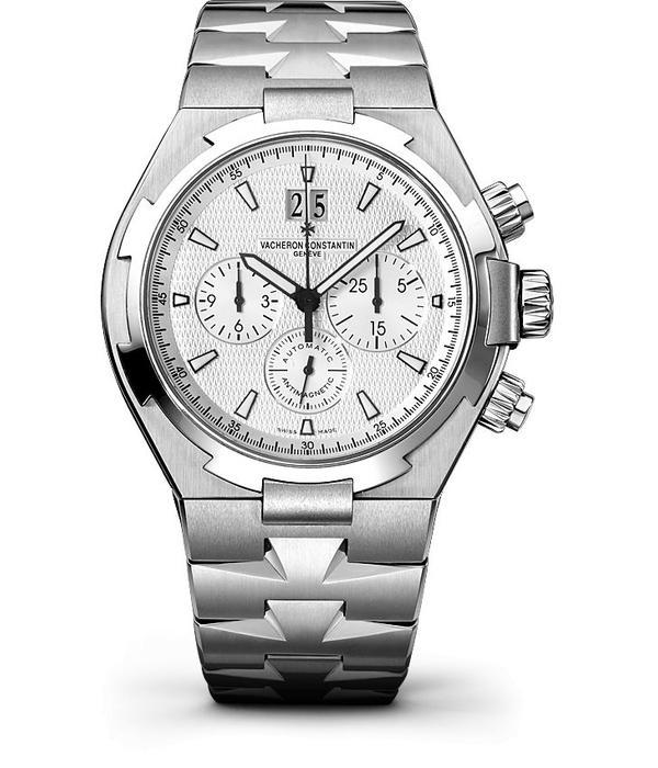 Vacheron Constantin Overseas Chronograph Horloge Staal / Zilver