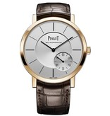 Piaget Altiplano 43mm Roségoud / Zilver / Alligatorleder