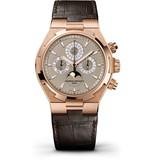 Vacheron Constantin Overseas Chrono Perpetual Horloge Roségoud / Opaal / Alligatorleder