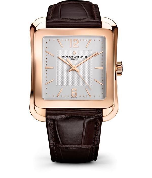 Vacheron Constantin Historiques Toledo Horloge Roségoud / Zilver / Alligatorleder