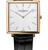 Vacheron Constantin Historique Ultra-fine 1968 Horloge Roségoud / Opaal / Alligatorleder