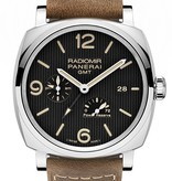 Officine Panerai Radiomir 1940 3 DAYS GMT Power Reserve Automatic Acciaio (PAM00658)
