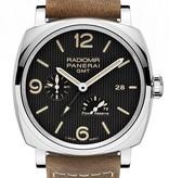 Officine Panerai RADIOMIR 1940 3 DAYS GMT POWER RESERVE AUTOMATIC ACCIAIO – 45MM