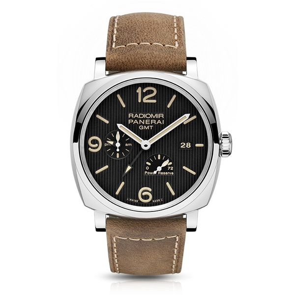 Radiomir 1940 3 Days GMT Power Reserve Automatic Acciaio 45mm