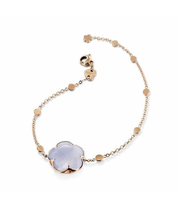 Pasquale Bruni Bon Ton Bracelet 18K Rose Gold chalcedoon lila