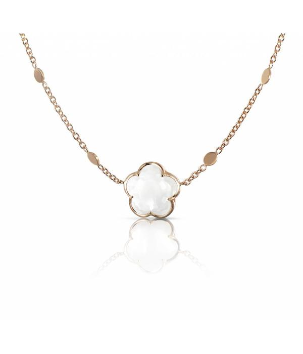 Pasquale Bruni Bon Ton Necklace 18K Rose Gold melkkwarts