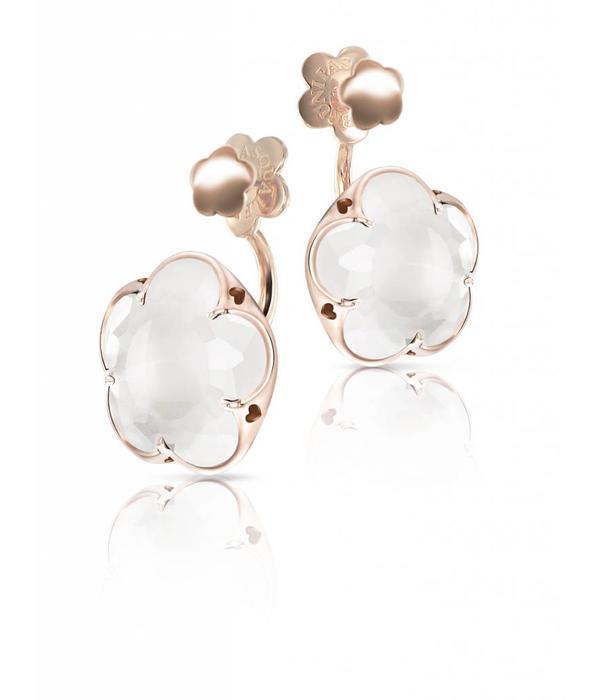 Pasquale Bruni Bon Ton Earring Drops 18K Rose Gold melkkwarts