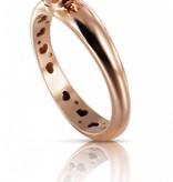 Pasquale Bruni Sissi io Amo Ring Gold 18K Rose Gold Pinknkwarts