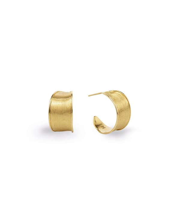 Marco Bicego Lunaria 18K Yellow Gold ring Earring Studs