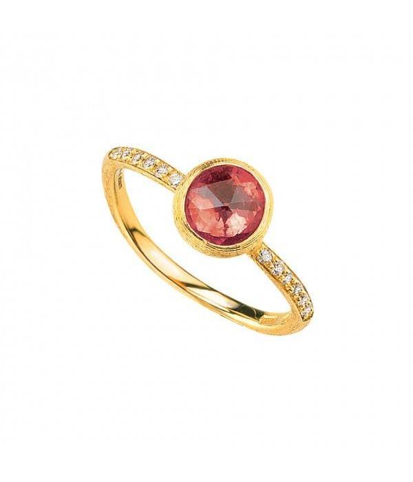 Marco Bicego Ring Jaipur roze toermalijn diamant