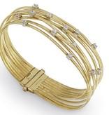 Marco Bicego Goa 18K Geelgoud 9 rijen flexibele Armband