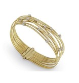 Marco Bicego Goa 18K Yellow Gold 9 Rows flexibele Bracelet