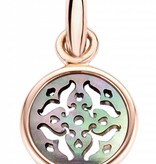 Tirisi Moda Copacabana Charm 18K Rose Gold with Mother of Pearl