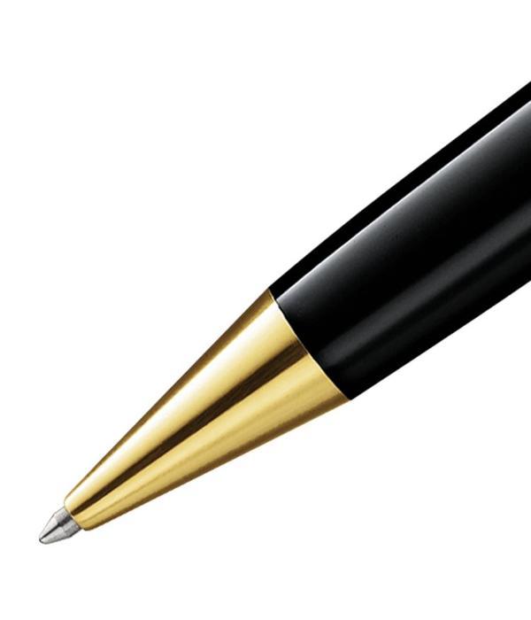 Montblanc Meisterstück LeGrand balpen zwart lak verguld