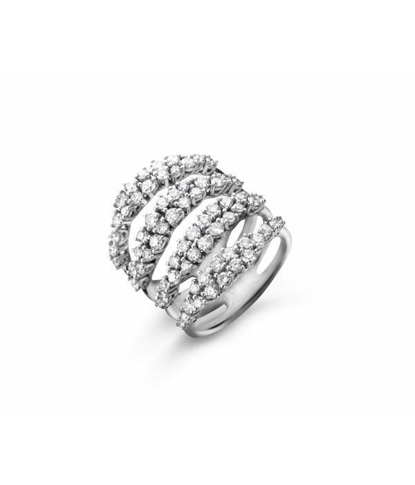Casato Miss Chi ring diamant 4 banen
