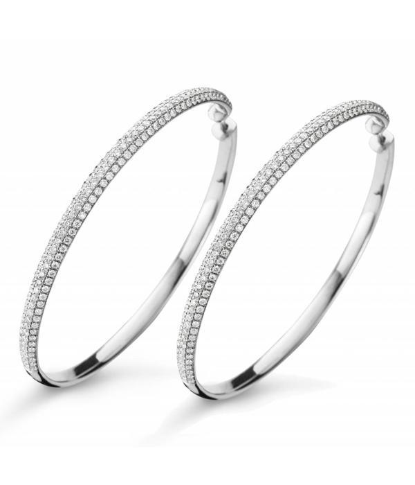 SC Jewellery Creolen Pavé Witgoud