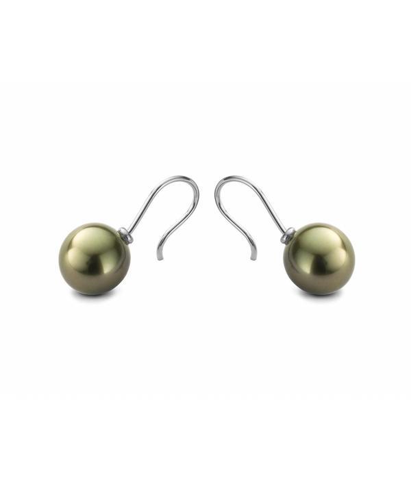 Schaap en Citroen Pearls EarRing Drops Pearl Tahiti White Gold