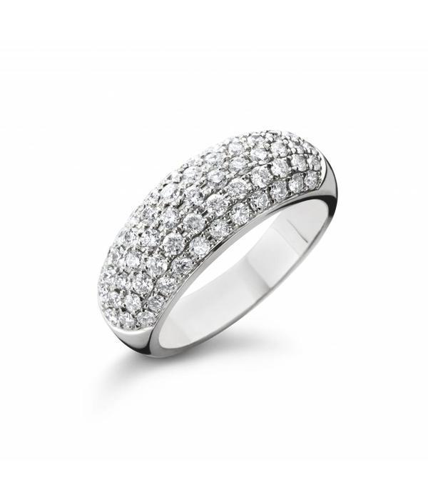 Highlights Ring Witgoud met Diamanten